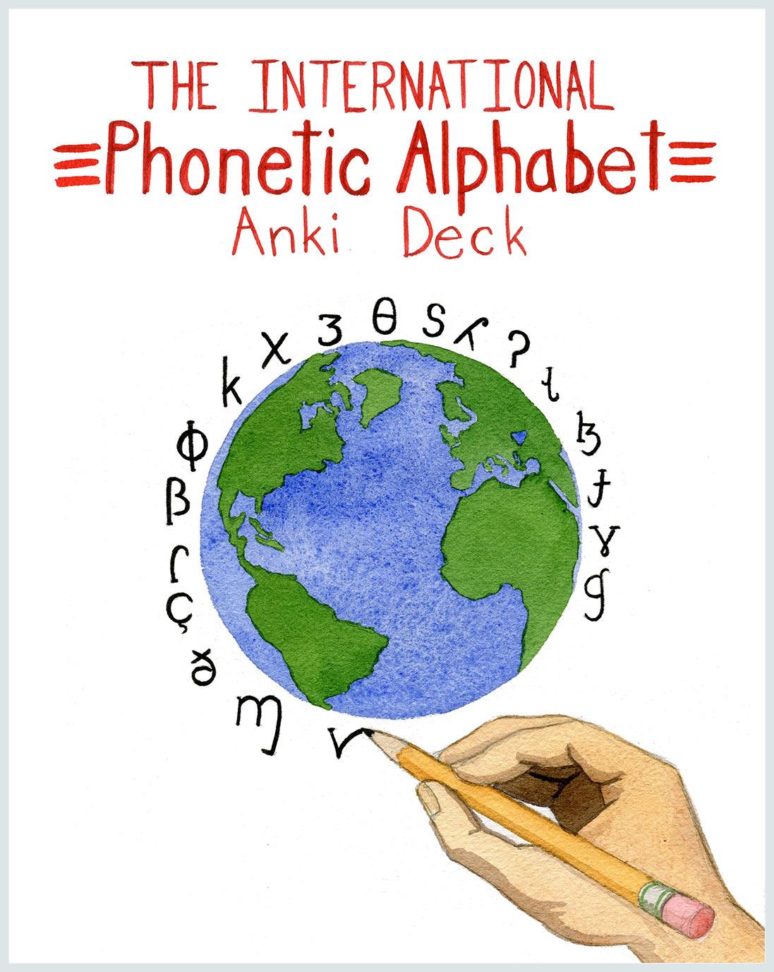 The International Phonetic Alphabet (IPA) Anki Deck