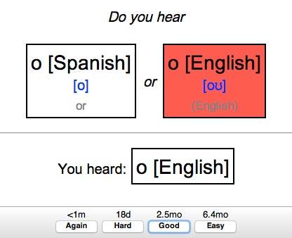 Fluent Forever Pronunciation Trainer